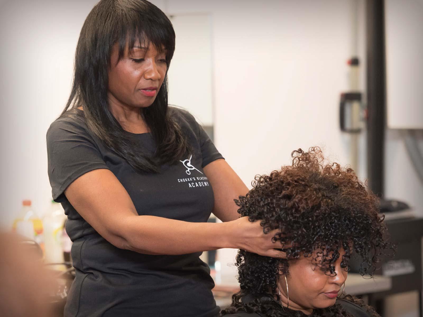 Studenten Enthousiast Van Black Hair Inspiratieles